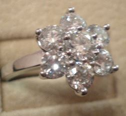 Bague Edelweiss en brillants