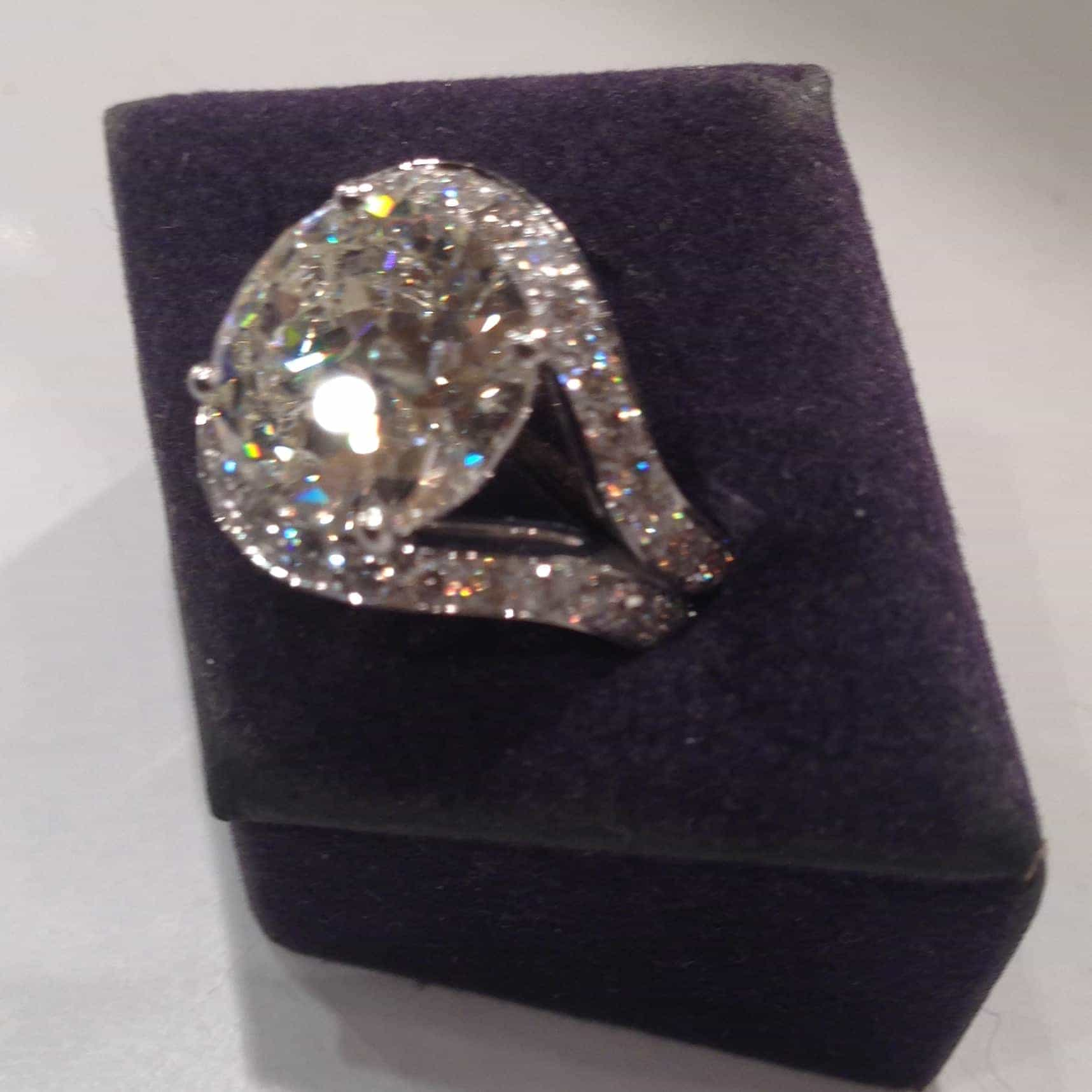 Bague brillant